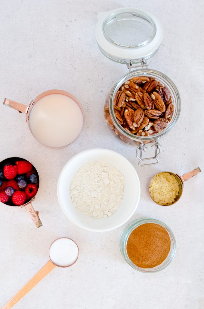 Easy vegan french toast ingredients