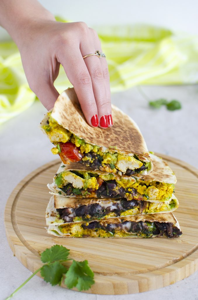 Vegan Breakfast Quesadillas