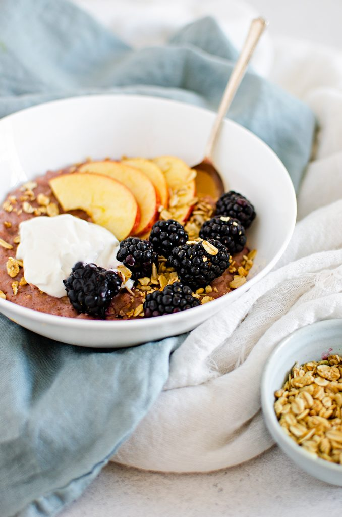 Vegan Apple Crumble Porridge