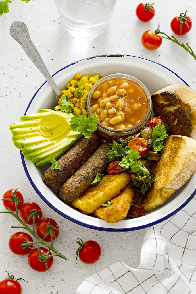 Easy Vegan Fry-Up