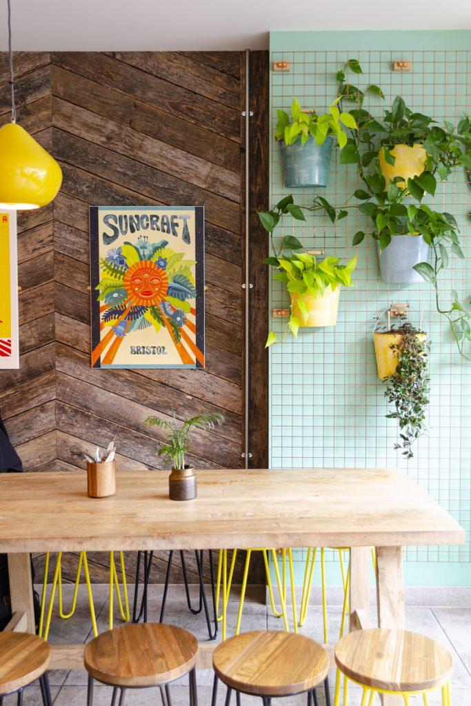 Suncraft vegan restaurant in bristol