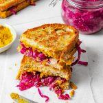 Vegan Cheese & Sauerkraut Toastie