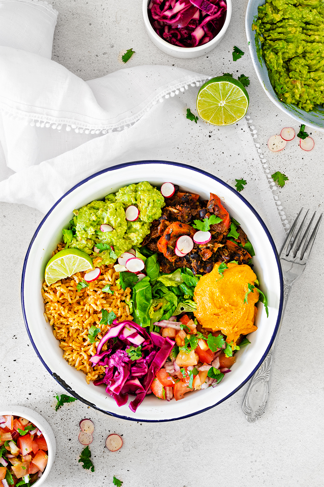 Vegan Mexican Burrito Bowl