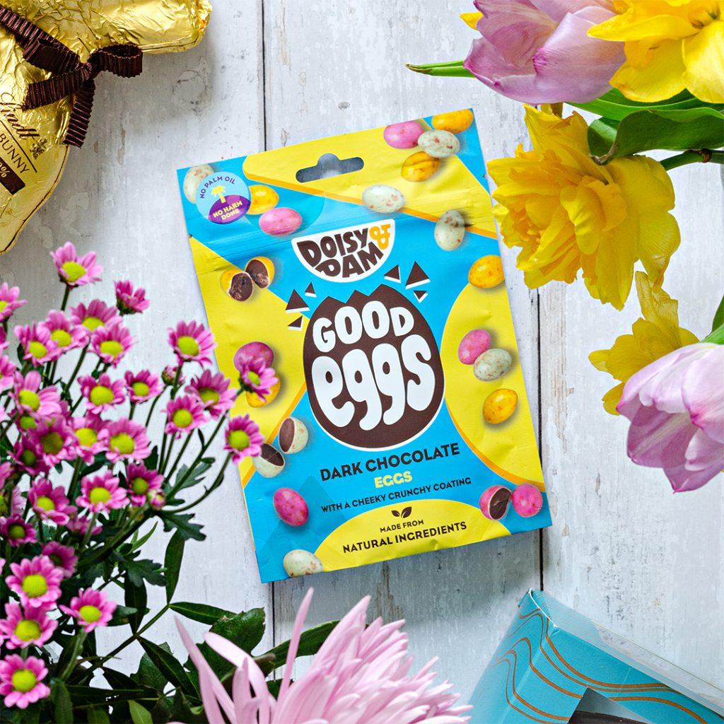 Vegan mini eggs from Doisy and Dam