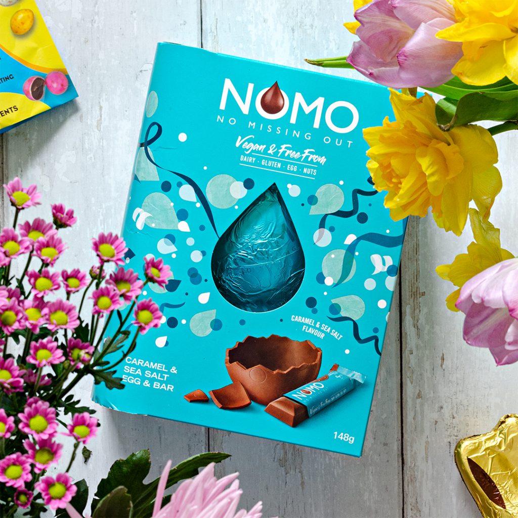 Salted caramel vegan easter egg from NOMO