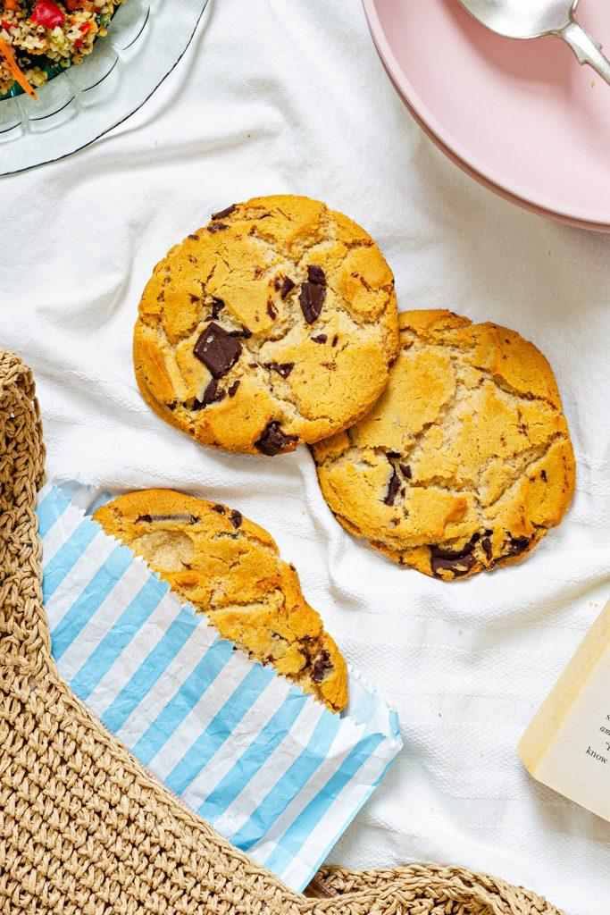 Vegan Chocolate Chip Cookies from the Co-op Gro Range