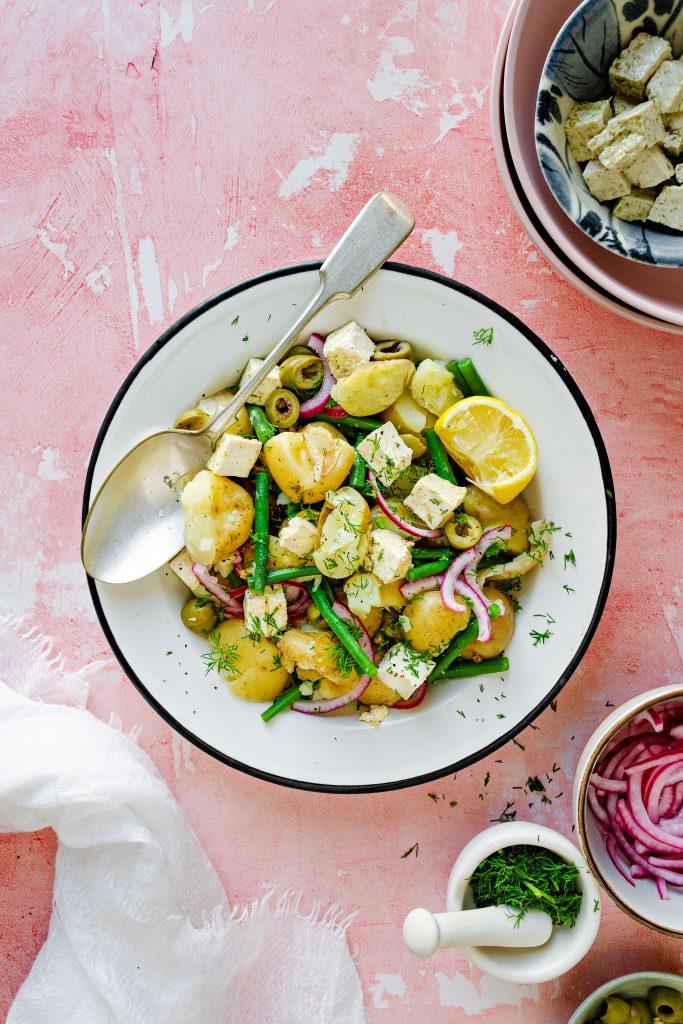 Easy Potato Salad Recipe in a bowl